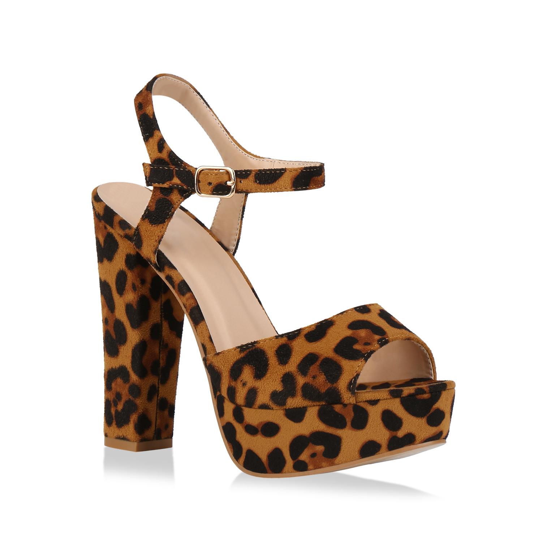 Sandalen - Damen Plateau Sandaletten Leopard › stiefelparadies.de  - Onlineshop Stiefelparadies