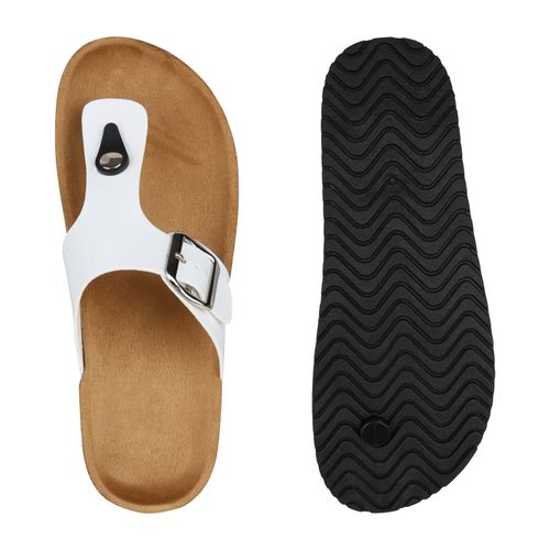Billig Damen Schuhe Damen Sandalen in Weiß 897981686