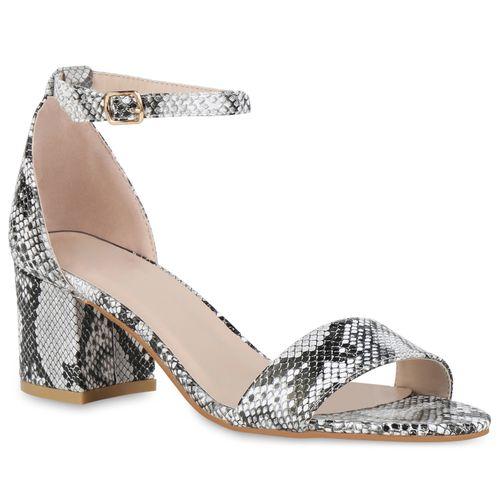 Damen Klassische Sandaletten - Snake