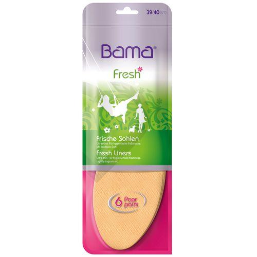 outlet store f11f5 cde7e Bama Bama Fresh 6 Paar - Frische-Sohle
