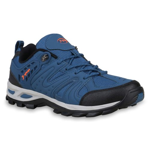 competitive price 6d2ab 1d361 Herren Halbschuhe Outdoor Schuhe - Blau Schwarz Neonorange