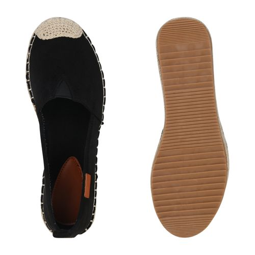 Damen Slippers Espadrilles Schwarz Espadrilles Slippers Espadrilles Slippers Schwarz Damen Damen Schwarz wnXfAn7q1x