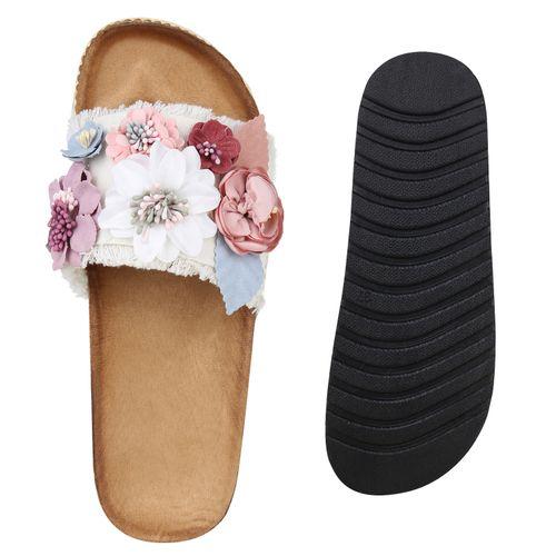 Damen Damen Sandaletten Weiß Pantoletten Sandaletten Sandaletten Pantoletten Weiß Damen Sandaletten Damen Pantoletten Pantoletten Weiß vRwfqA11