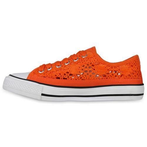 Damen Sneaker low - Orange