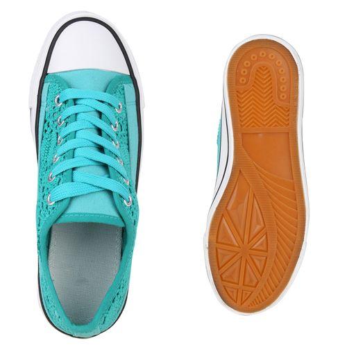 Türkis Damen Damen Türkis Sneaker Türkis Sneaker Low Low Damen Low Sneaker gfqR7RBXw
