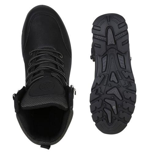 Damen Stiefeletten Damen Schuhe Outdoor Stiefeletten Schwarz dH7HwFq