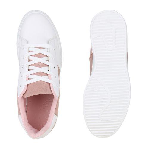 Damen Plateau Damen Sneaker Rosa Sneaker Rosa Damen Plateau vB6qESnxWw