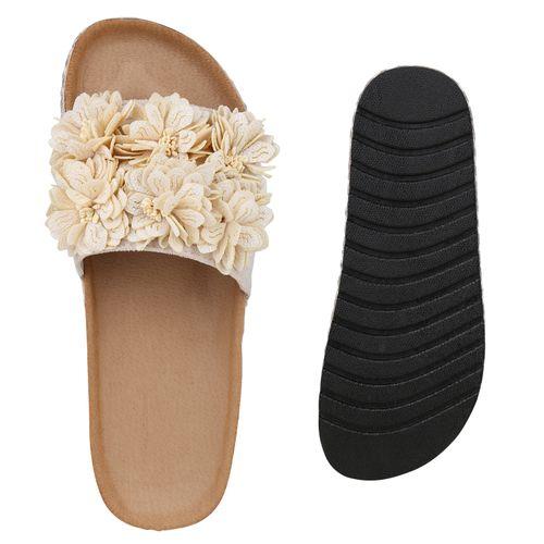 Pantoletten Pantoletten Damen Beige Damen Sandaletten Pantoletten Sandaletten Beige Beige Sandaletten Damen 55wqrOxfU
