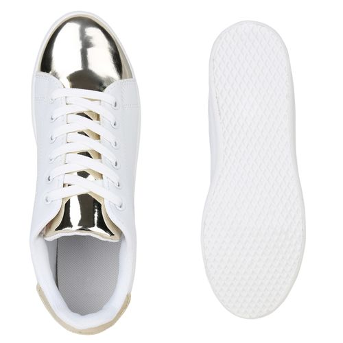 Sneaker Sneaker Low Damen Gold Gold Low Damen Gold Sneaker Damen Low 5gqwRw