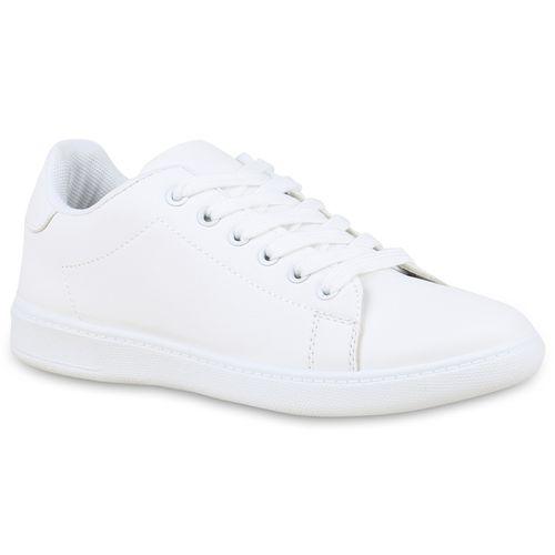 Weiß Damen Sneaker Sneaker Weiß Low Damen Damen Low xqFaqwTB