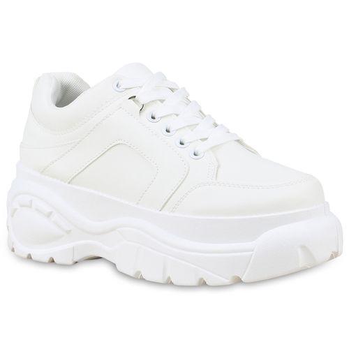 Damen Sneaker Plateau Damen Grau Plateau qZOfXYx