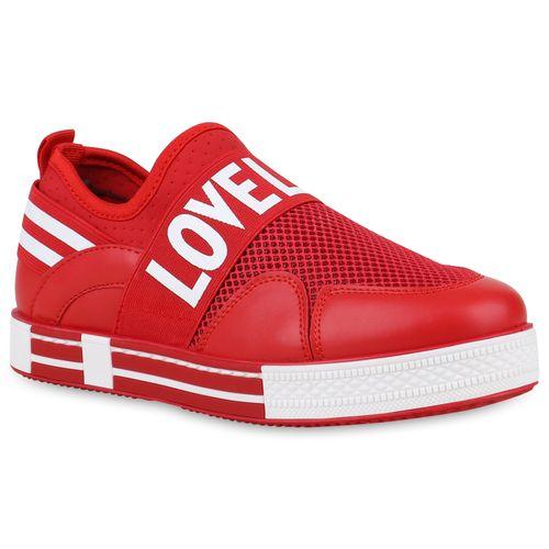 Damen Plateau Plateau Rot Damen Rot Plateau Sneaker Damen Sneaker Damen Rot Damen Sneaker Plateau Rot Sneaker w5RPqqf