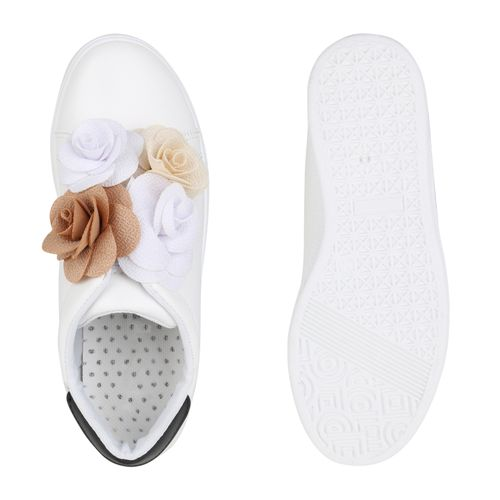 Damen Damen Sneaker Slip Ons Weiß Slip Weiß Ons Damen Sneaker Sneaker PAC4xwqX