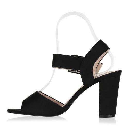 Damen Klassische Sandaletten - Schwarz