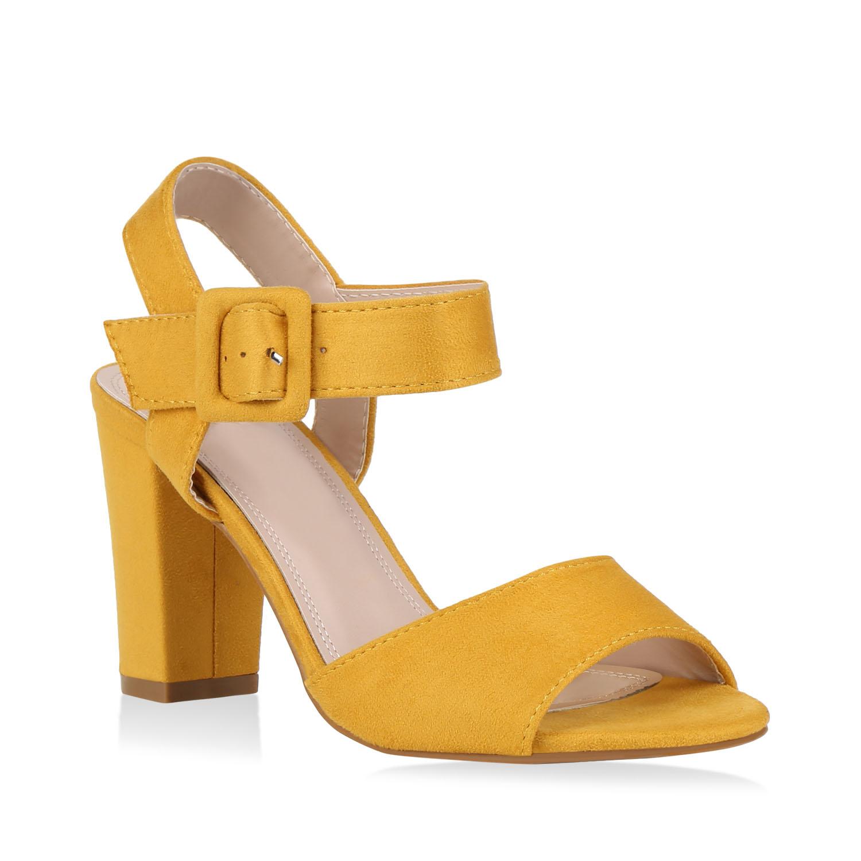 Damen Klassische Sandaletten - Gelb