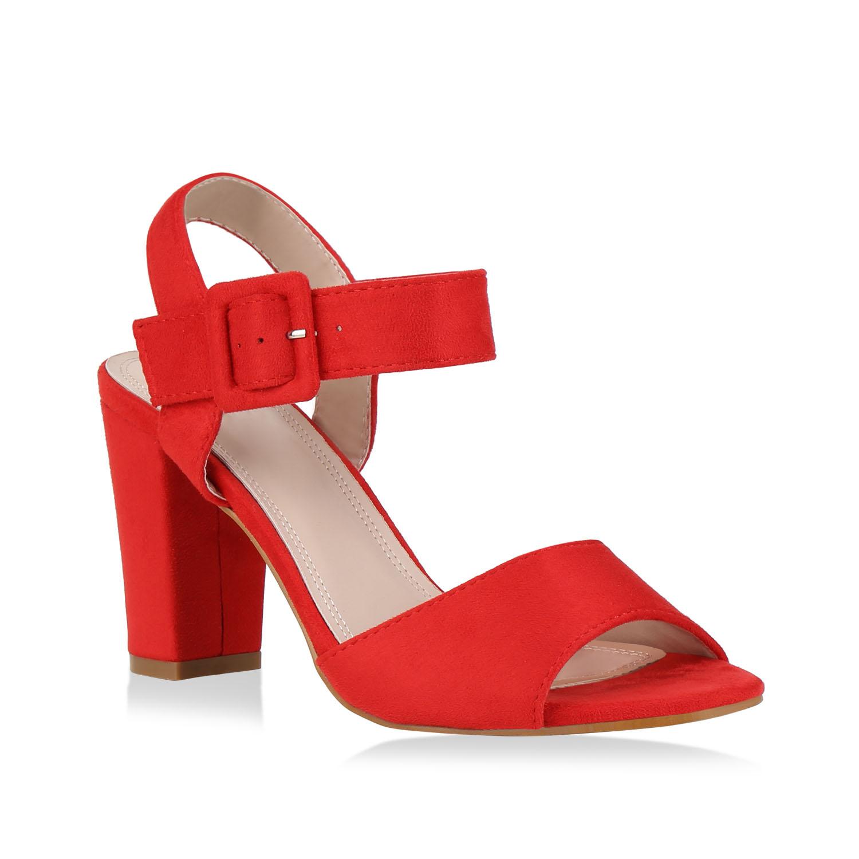 Damen Klassische Sandaletten - Rot
