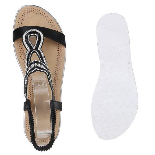 Damen Damen Sandaletten Keilsandaletten Damen Keilsandaletten Schwarz Sandaletten Schwarz Sandaletten 7wF7t