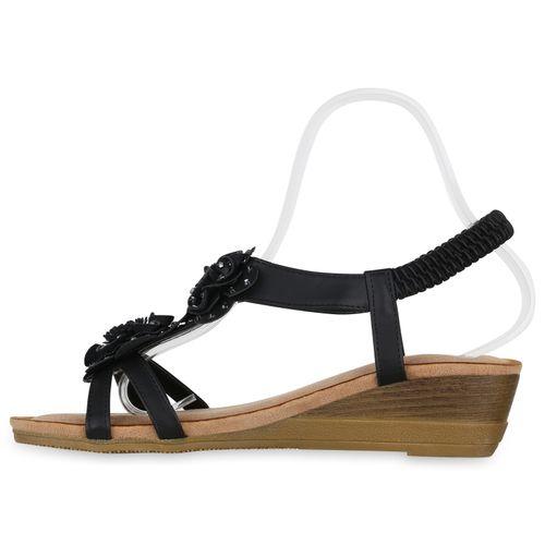 Keilsandaletten Schwarz Sandaletten Damen Damen Sandaletten Keilsandaletten 4nqvtxXqI