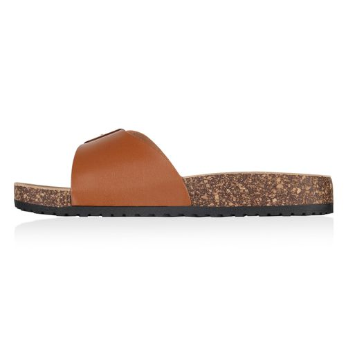 Sandalen Pantoletten Sandalen Sandalen Damen Pantoletten Hellbraun Damen Hellbraun Hellbraun Damen Pantoletten 4SExwq8Fz