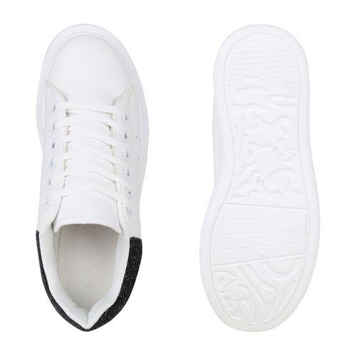 Sneaker Sneaker Plateau Damen Schwarz Weiß Damen Plateau Weiß Plateau Schwarz Sneaker Schwarz Damen Weiß fnSqIpSWFw