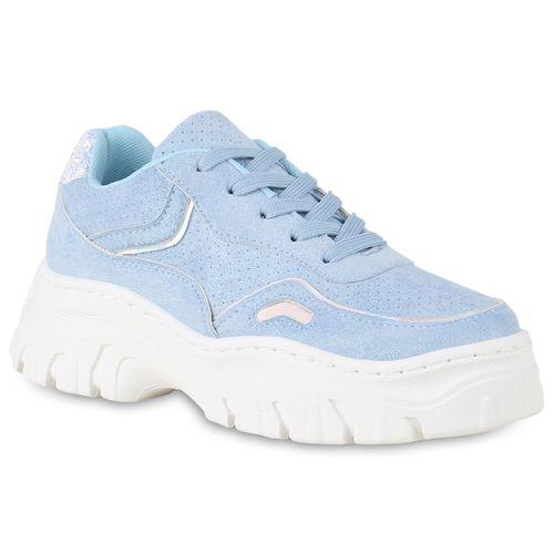 Plateau Damen Sneaker Hellblau Damen Plateau Sneaker Hellblau Sneaker Plateau Damen R4rpw0R