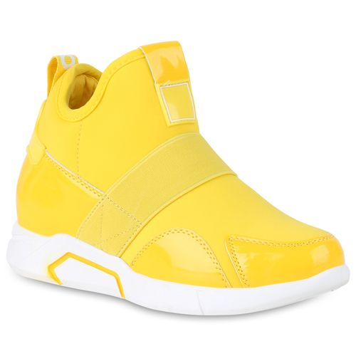 Sneaker Damen Gelb Wedges Gelb Wedges Damen Sneaker gP8aqaZwE