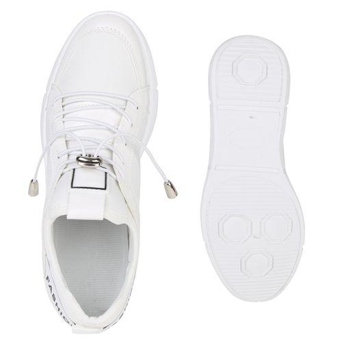 Wedges Weiß Sneaker Damen Sneaker Damen Damen Weiß Wedges Wedges Sneaker Weiß PwvCCqE