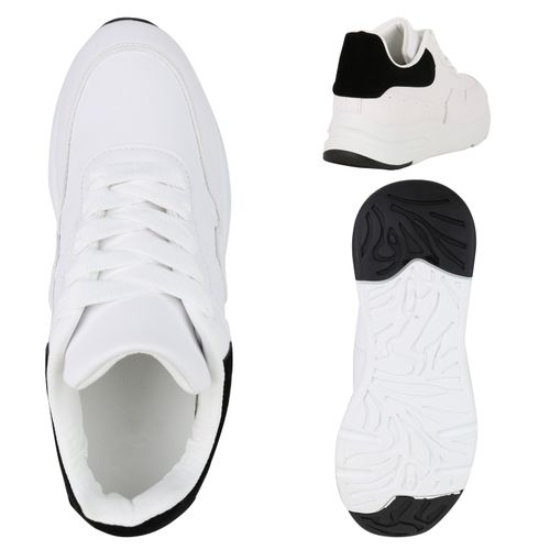 Weiß Plateau Sneaker Damen Schwarz Damen Schwarz Sneaker Damen Plateau Sneaker Plateau Weiß RX1wHq