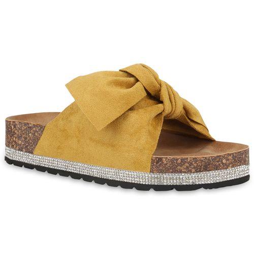 Sandaletten Sandaletten Damen Gelb Gelb Damen Pantoletten Sandaletten Gelb Damen Damen Pantoletten Sandaletten Pantoletten Pantoletten WI9eEHYD2