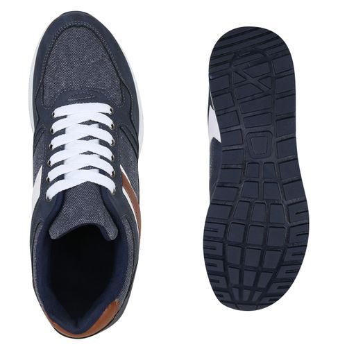 Herren Sneaker low - Dunkelblau
