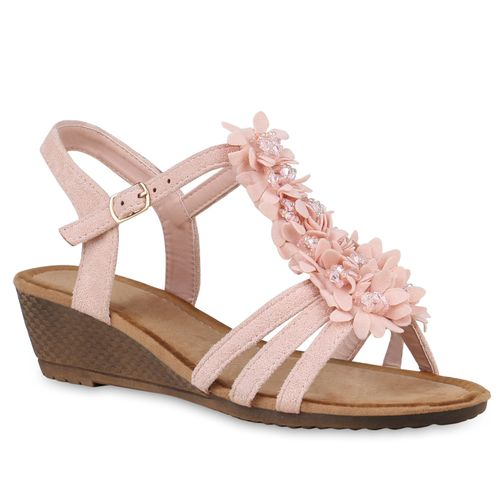 Sandaletten Damen Rosa Keilsandaletten Damen Keilsandaletten Sandaletten Rosa Damen Rosa Sandaletten Keilsandaletten q87Onw1
