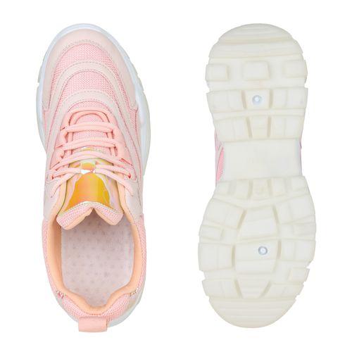 Damen Plateau Rosa Plateau Rosa Sneaker Plateau Sneaker Sneaker Damen Damen 7dOPYn