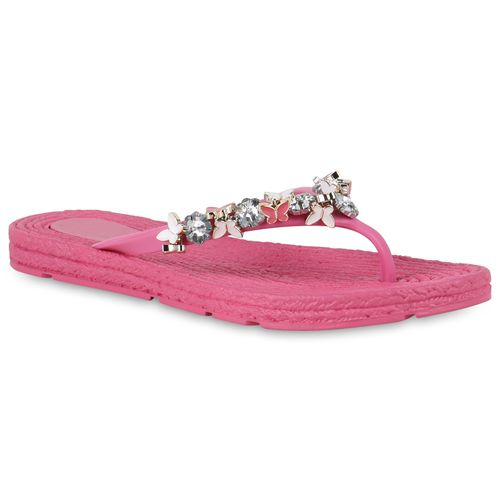 Sandalen Damen Pink Damen Zehentrenner Damen Zehentrenner Pink Pink Sandalen Damen Zehentrenner Sandalen lK3FcTJ1
