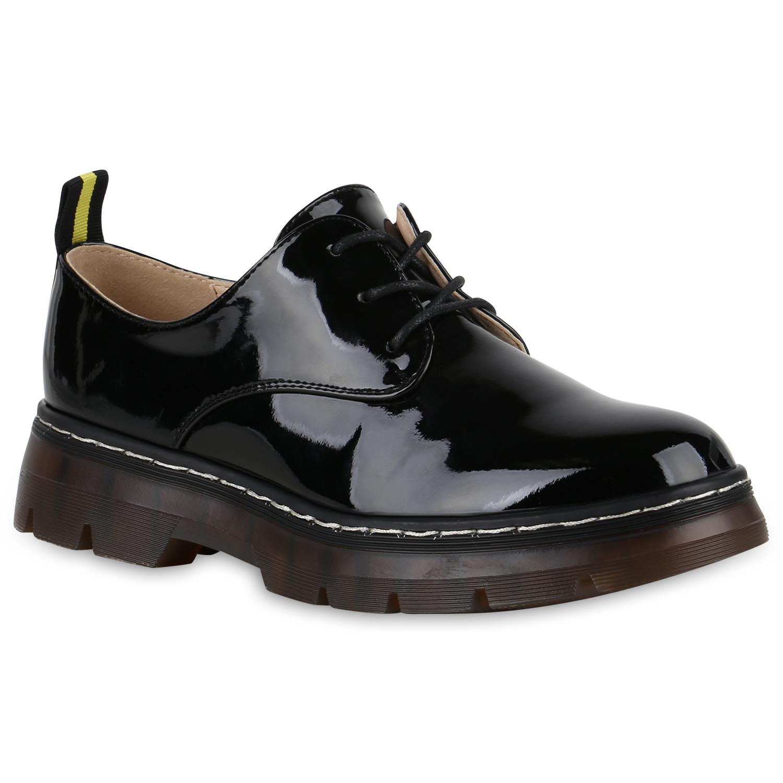 Halbschuhe für Frauen - Damen Klassische Halbschuhe Schwarz  - Onlineshop Stiefelparadies