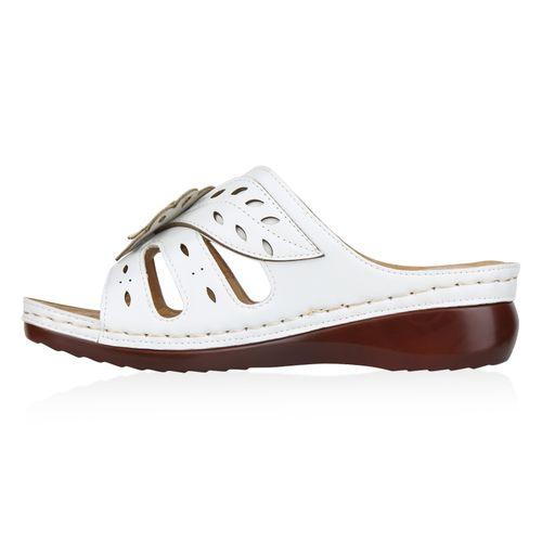 Pantoletten Weiß Sandaletten Damen Sandaletten Pantoletten Sandaletten Damen Weiß Sandaletten Weiß Damen Pantoletten Damen wOPIxpqO