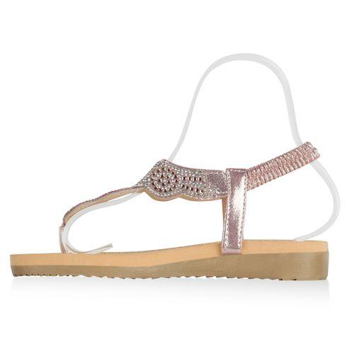 Rose Sandaletten Damen Sandaletten Damen Damen Gold Zehentrenner Rose Zehentrenner Zehentrenner Sandaletten Gold Rose wpqXHqz