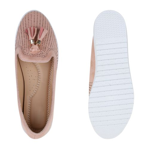 Damen Rosa Damen Loafers Rosa Slippers Slippers Damen Rosa Slippers Loafers Loafers OwAOU6q