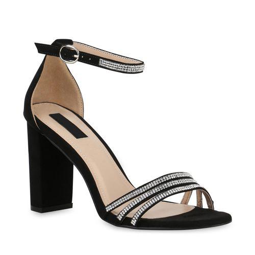 brand new e0ab1 671e0 Damen Sandaletten High Heels - Schwarz