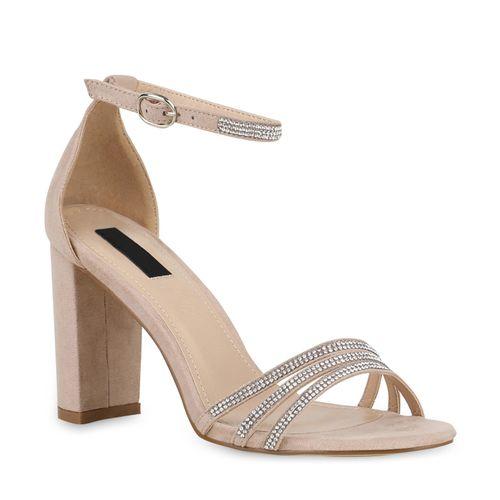 low priced 02f0d e7fa4 Damen Sandaletten High Heels - Beige