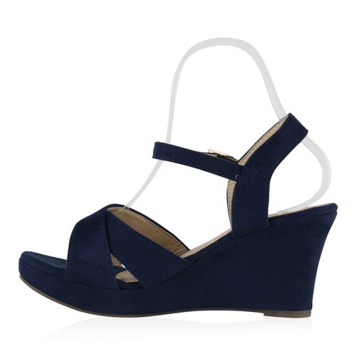 Sandaletten Damen Damen Damen Dunkelblau Keilsandaletten Dunkelblau Damen Sandaletten Keilsandaletten Keilsandaletten Dunkelblau Sandaletten qCT4z