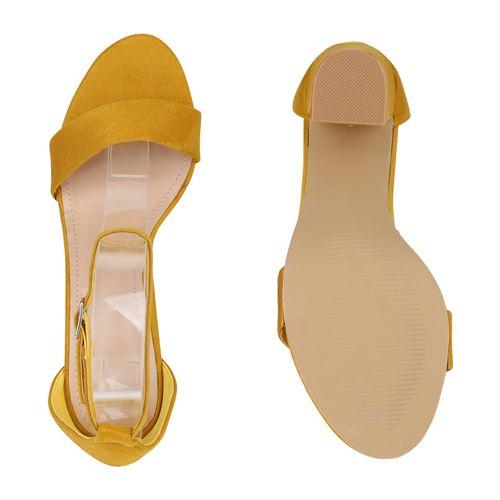 Sandaletten Gelb Gelb Klassische Sandaletten Damen Klassische Klassische Damen Damen np4xRqn