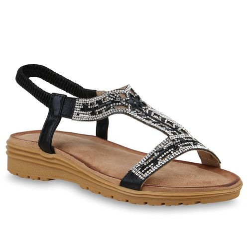 Schwarz Schwarz Sandaletten Damen Keilsandaletten Sandaletten Keilsandaletten Damen Keilsandaletten Sandaletten Damen Schwarz CqnXv