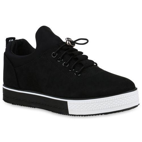 1b03fbdd3de0b8 Damen Sneaker in Schwarz (830391-3401) - stiefelparadies.de
