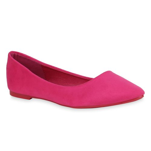 Damen Klassische Ballerinas - Pink
