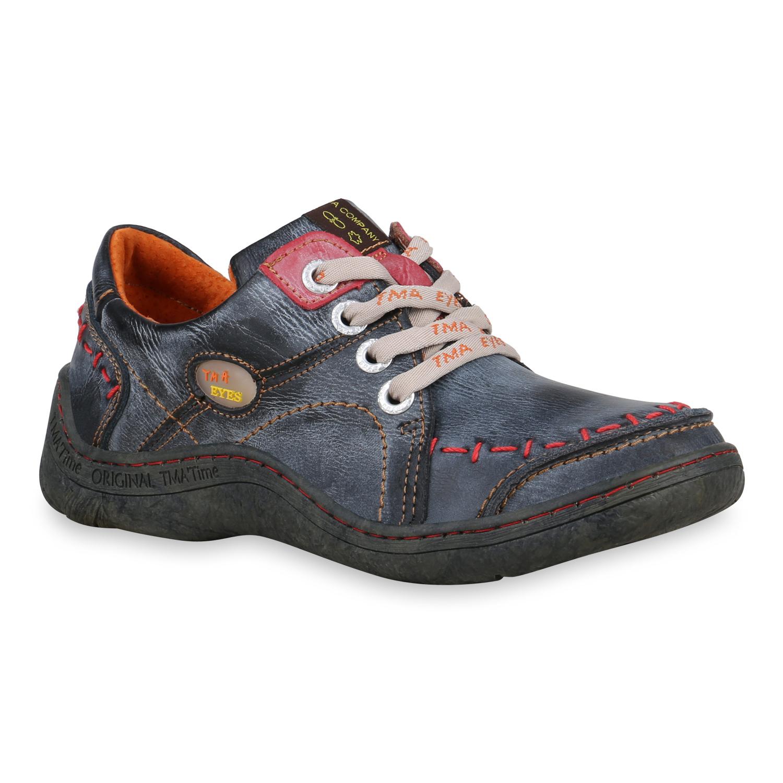 Halbschuhe für Frauen - Damen Klassische Halbschuhe Dunkelgrau  - Onlineshop Stiefelparadies