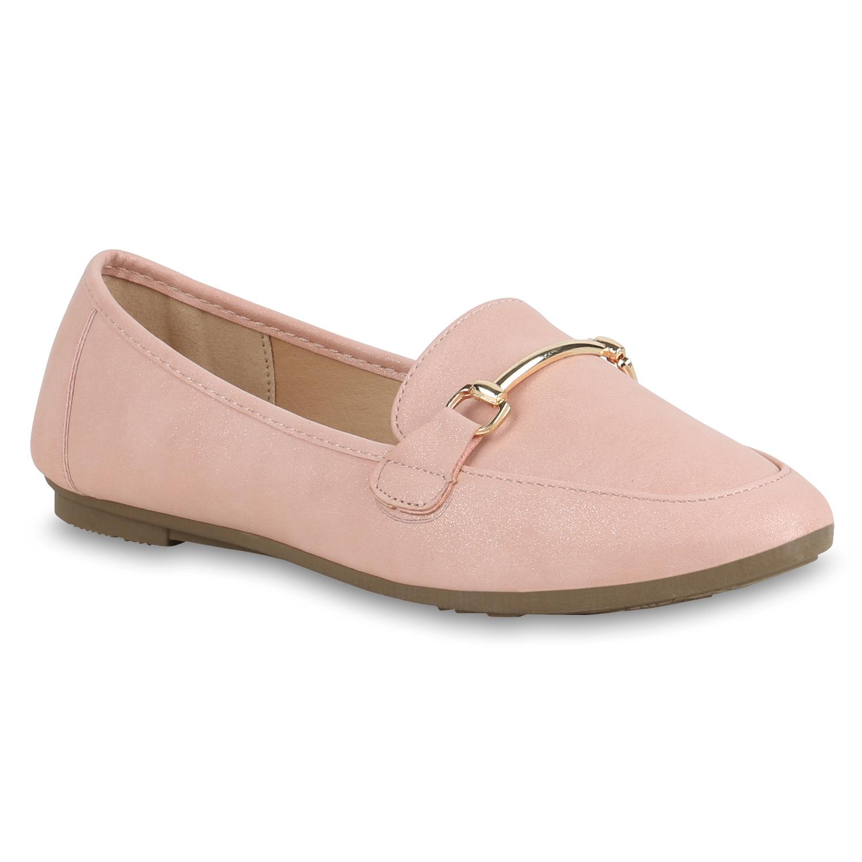 Slipper - Damen Slippers Loafers Rosa › stiefelparadies.de  - Onlineshop Stiefelparadies