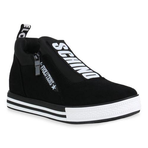 Sneaker Damen Schwarz Plateau Damen Schwarz Schwarz Sneaker Plateau Sneaker Plateau Damen nzqHagSaX