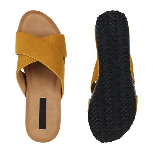 Pantoletten Sandaletten Damen Gelb Sandaletten Damen Damen Pantoletten Gelb Gelb Sandaletten Sandaletten Damen Pantoletten xPqC8wnI