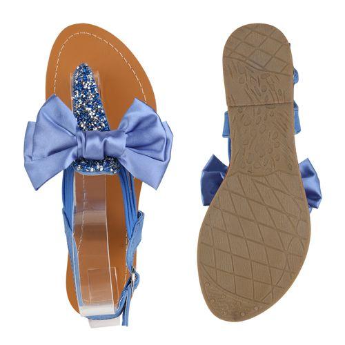 Sandalen Damen Damen Zehentrenner Hellblau Zehentrenner Damen Sandalen Sandalen Hellblau Zehentrenner Hellblau x5qYwA0z