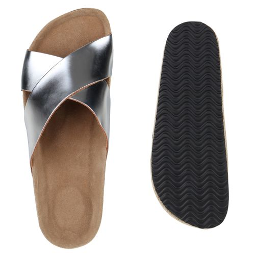 Silber Sandaletten Pantoletten Pantoletten Damen Silber Sandaletten Damen Sandaletten Sandaletten Damen Damen Silber Pantoletten Pantoletten SEq6nS0w